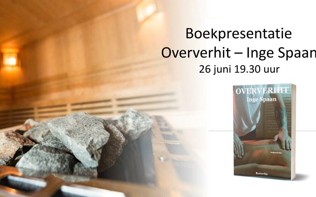 Boekpresentatie Oververhit gaat door, maar online!